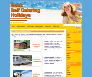 Book a self catering holiday