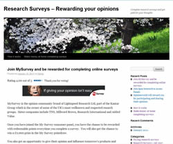 Earn Money from Research Surveys